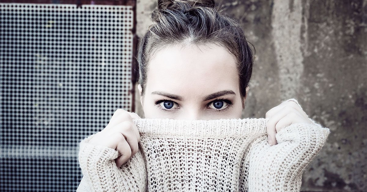 girl-with-blue-eyes - Improve the Look of Tired Aging Eyes