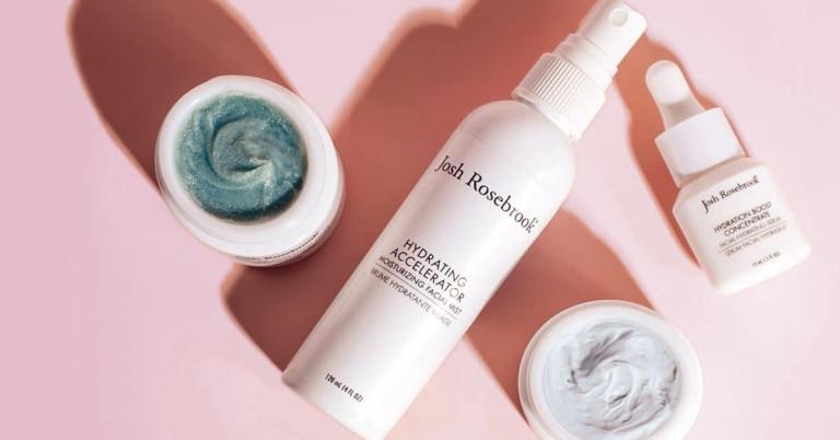 Josh-Rosebrook-hair-care products