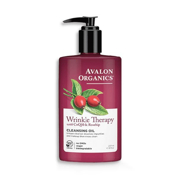 avalon-organics-wrinkle-therapy-cleansing-oil