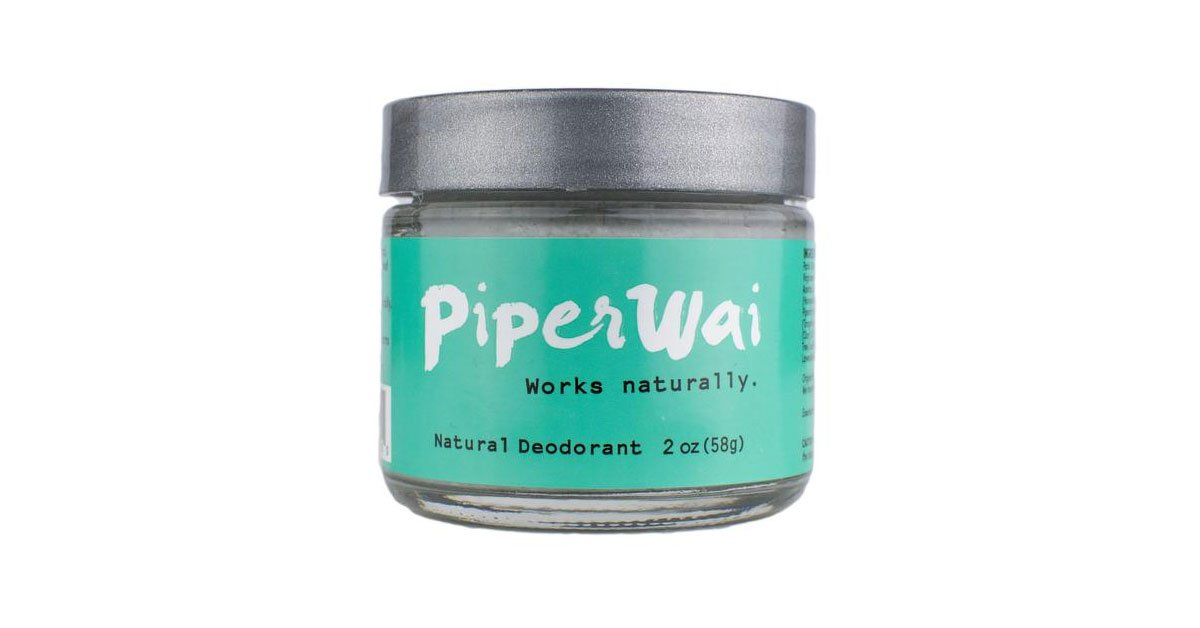 Piperwai - Natural Activated Charcoal Deodorant