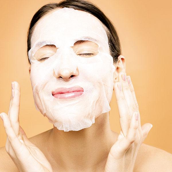 hellodollface - girl wearing beauty facial mask