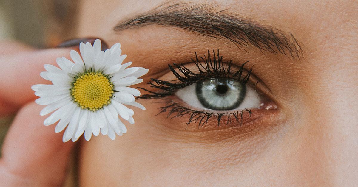 Dark Circles around your eyes closeup womans eye