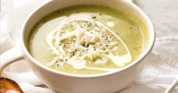 Low Oxalate Recipe - Creamy Zucchini Soup