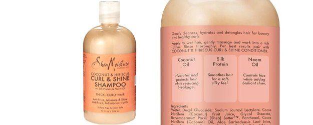 cruelty free shampoo-SheMoisture-Natural-Coconut-Shine-Shampoo